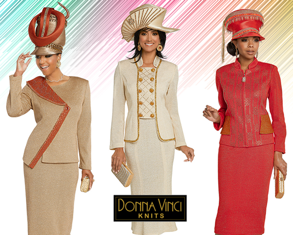 Donna Vinci Knit Suits 2020