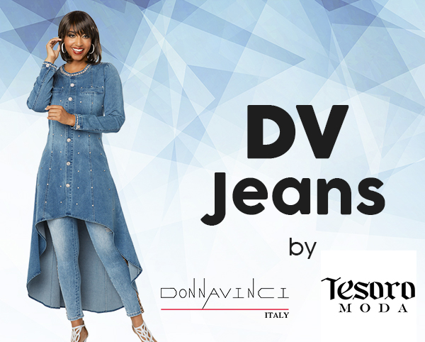 DV Jeans By Donna Vinci And Tesoro Moda 2020