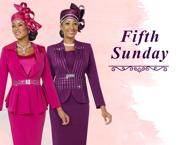 Fifth Sunday Suits 2019