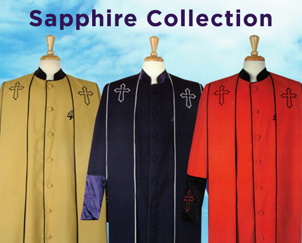 Sapphire Collection Mens Church Robes 2020